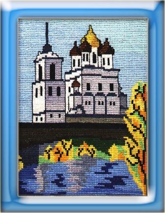Схема вышивки «Троицкий собор»
